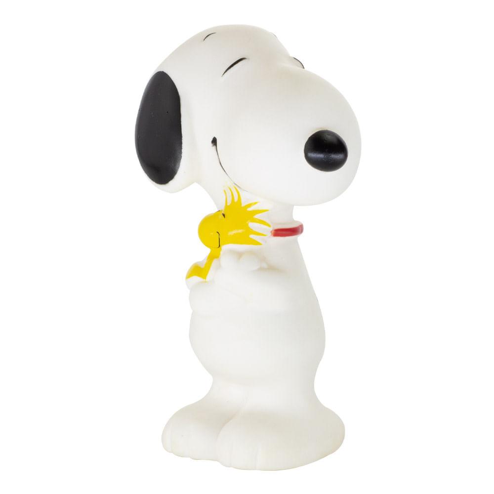 Boneco Snoopy e Woodstock de  vinil 13 cm - EDIÇÃO ESPECIAL - Estrela