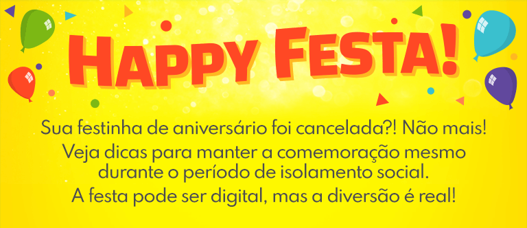 Banner Happy Festa