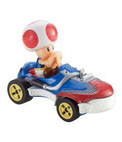 Mini-Veiculos---Hot-Wheels---164---Mario-Kart---Toad