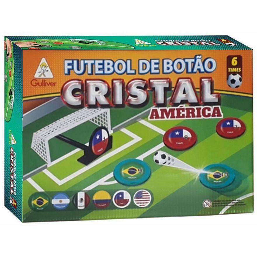 America-Futebol-de-Botao-Cristal-Copa-do-Brasil-Gulliver---6-Selecoes---Gulliver