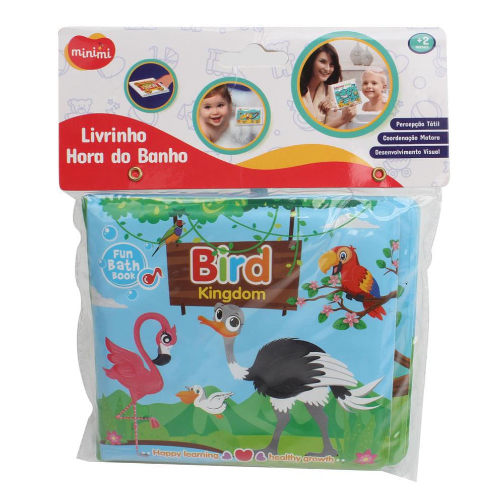 Livro Infantil - Livrinho Hora do Banho - Minimi