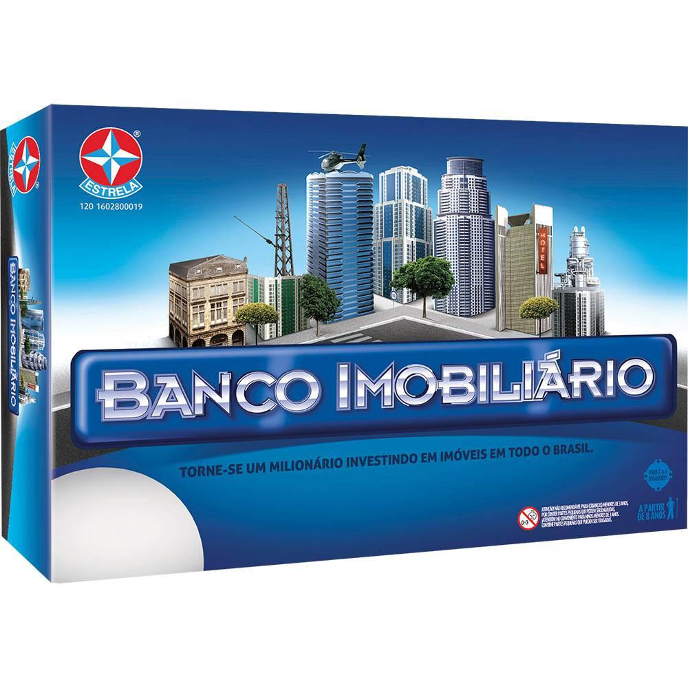 Jogo Banco Imobiliário - Nova Embalagem - Estrela