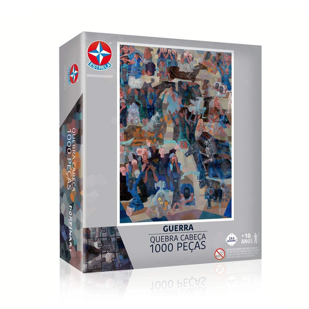 Quebra-Cabeças Portinari 1000 Peças - Guerra - Estrela