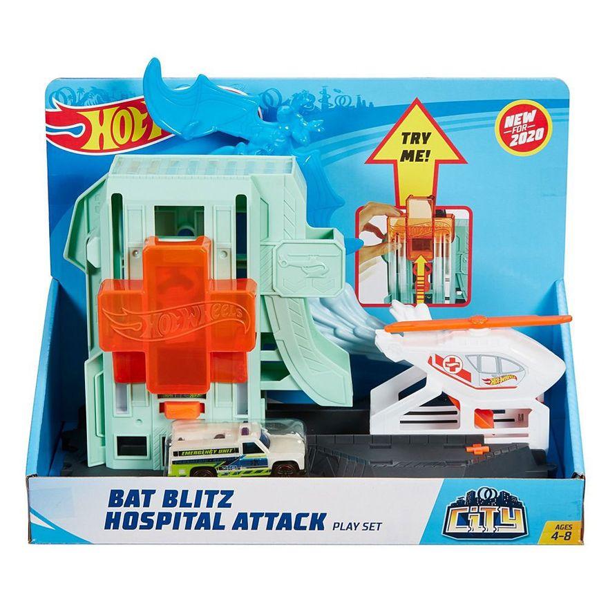 Pista-Hot-Wheels---Ataque-do-Morcego-no-Hospital---Mattel-1