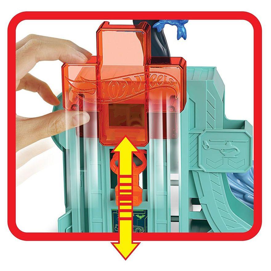 Pista-Hot-Wheels---Ataque-do-Morcego-no-Hospital---Mattel-2