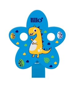 Prendedor-de-Chupeta---Magia-Azul---Dinossauro---Lillo