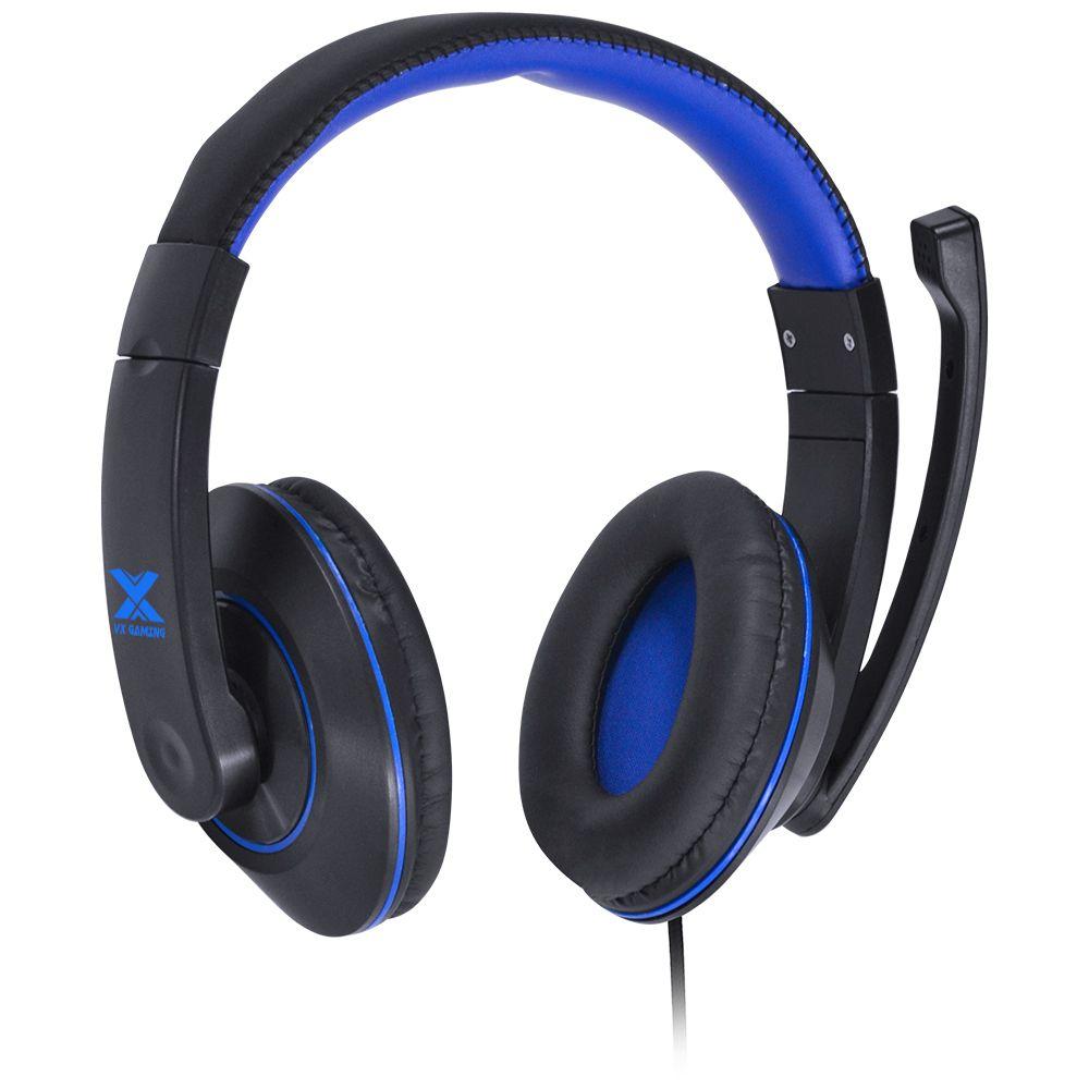 Headset Gamer VX Blade II com Microfone - Azul