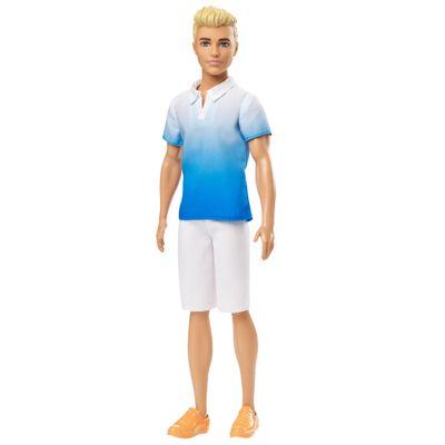 Boneco-Ken-Fashionistas---Camisa-Azul-Ombre---Mattel