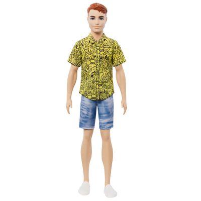 Boneco-Ken-Fashionistas---Ruivo-com-Camisa-Amarela---Mattel