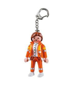 Mini-Chaveiro-8-Cm---Figuras-Playmobil---Bombeira---Sunny