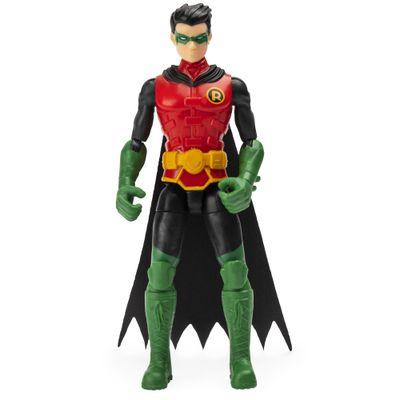 Mini-Figura-Articulada-com-Acessorios-Surpresa---9-Cm---DC-Comics---Robin---Sunny