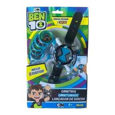 Lancador-de-Discos---Ben-10---Omnitrix-Omnitunado---Sunny