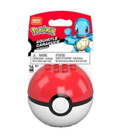 Blocos-de-Montar---Mega-Construx---Pokemon---Pokebola-com-Squirtle---Mattel