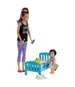 Boneca-Barbie---Babysitter---Cojunto-Baba---Skipper-com-Caminha---Mattel
