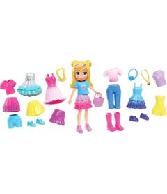 Boneca-Polly-Pocket---Polly-Pronta-para-a-Festa---Kit-Fabuloso---Mattel