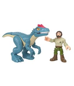 Figura-Basica-Imaginext---Jurassic-World-2---Alossauros-e-Guarda-Florestal---Fisher-Price