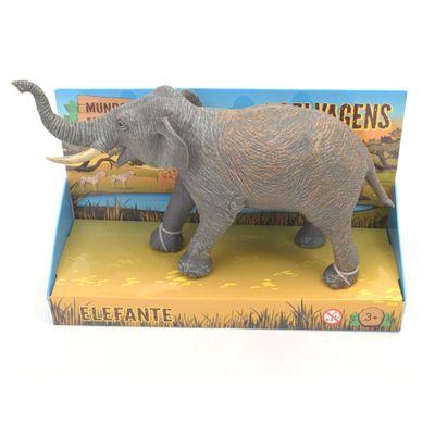 Figura-de-PVC---Mundo-Animal---Animais-Selvagens---Elefante---Minimi