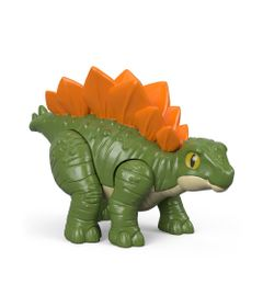 Mini-Figura---7-Cm---Imaginext---Jurassic-World---Filhote-Estegossauro---Verde---Fisher-Price