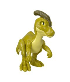 Mini-Figura---7-Cm---Imaginext---Jurassic-World---Filhote-Parasaurolophus---Verde---Fisher-Price