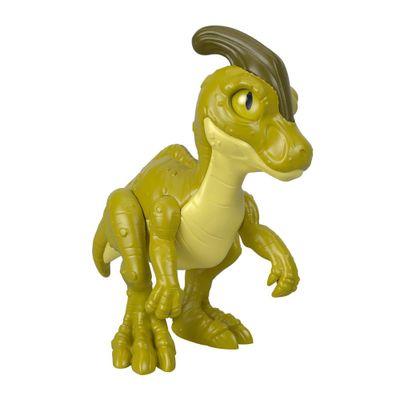 Mini-Figura---7-Cm---Imaginext---Jurassic-World---Filhote-Parasaurolophus---Verde---Fisher-Price