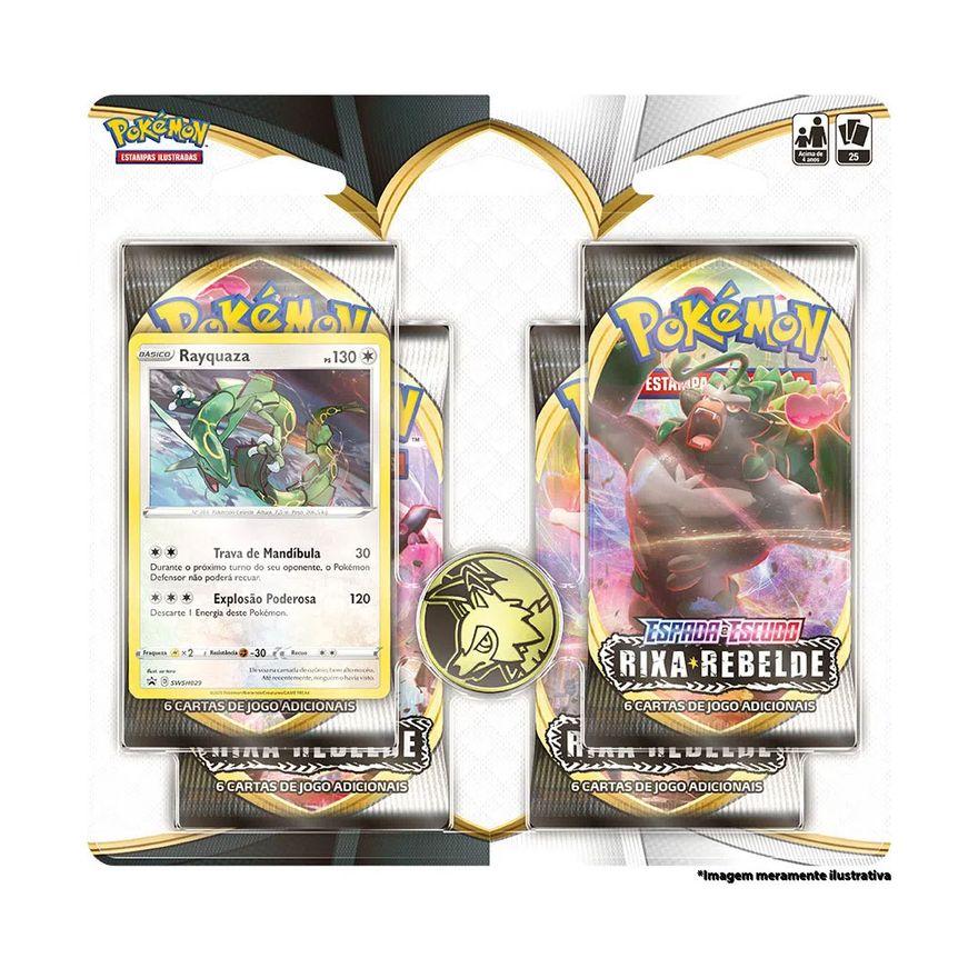 Deck-Pokemon---Blister-Quadruplo---Rixa-Rebelde---Espada-e-Escudo---Rayquaza---Copag
