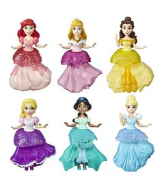 Conjunto-De-Mini-Bonecas---Princesas-Disney---Mega-Pack-5-Personagens---Hasbro-0