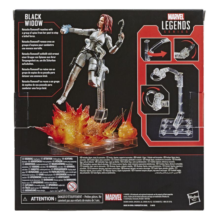 Boneco-Articulado---Marvel-Legends-Deluxe-Black-Widow---Viuva-Negra-Traje-Branco---Hasbro-6