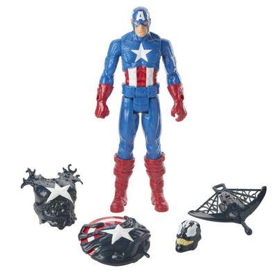 Boneco-Articulado---30-Cm---Disney---Spider-Man-Maximum-Venon---Capitao-America-Deluxe---Hasbro-0