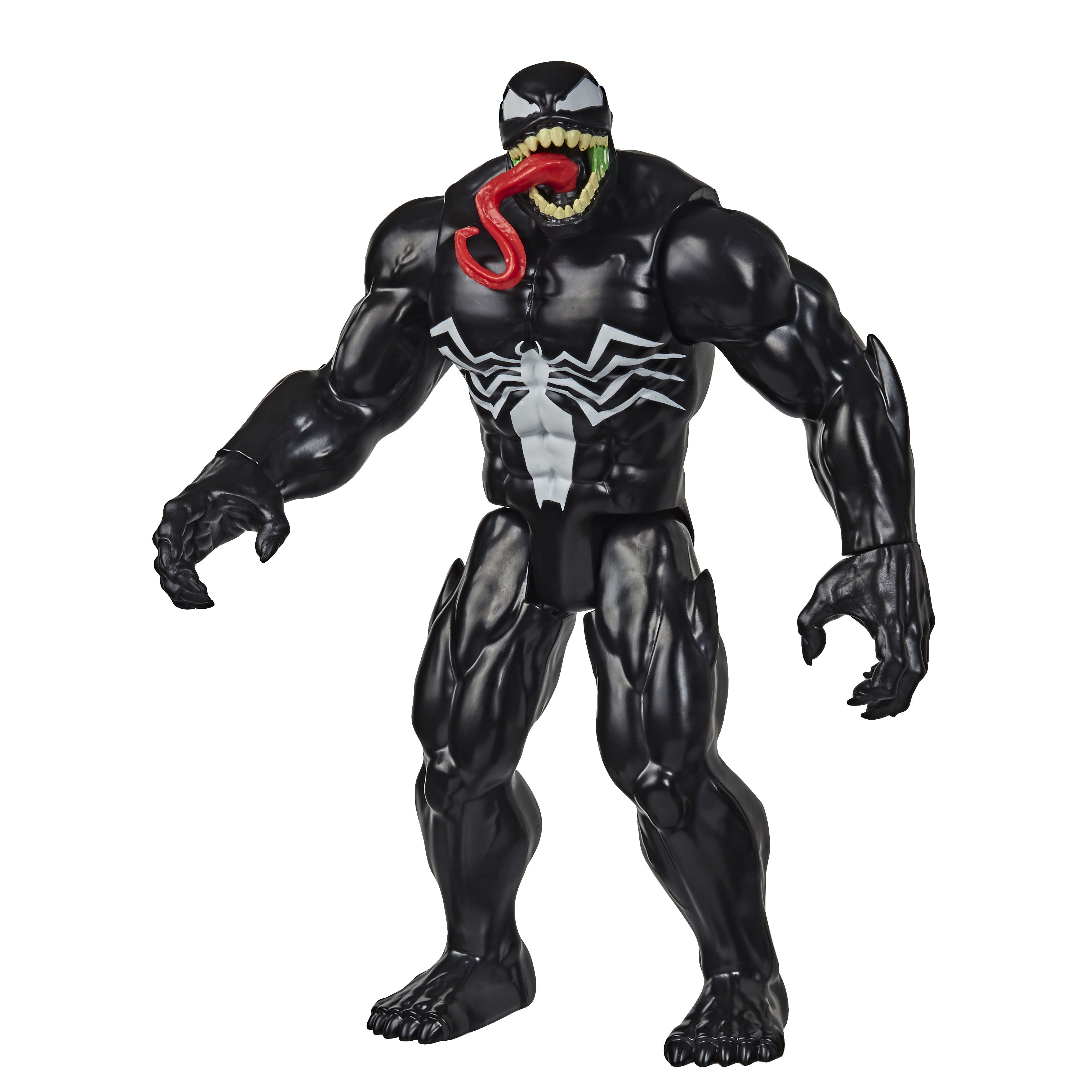 Figura Articulada - 30Cm - Disney - Marvel Titan Hero - Spider-Man Maximum Venom - Venom - Hasbro