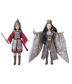 Conjunto-De-Bonecas-Articuladas---Disney---Mulam-E-Xianniang-Deluxe---Hasbro-0