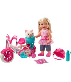 Veiculo-E-Boneca---37Cm---Little-Mommy---Meu-Primeiro-Passeio---Mattel-0