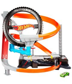 Pista-de-Percurso---Hot-Wheels---Oficina-Mecanica---Pista-Motorizada---Mattel_Frente