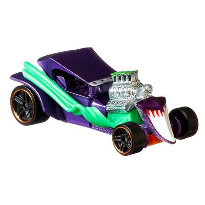 Veiculo-Hot-Wheels---Escala-1-64---DC-Comics---Joker---Mattel