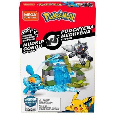 Blocos-de-Montar---Mega-Construx---Playset-de-Batalha---Pokemon---Mudkip-vs-Poochyena---Mattel