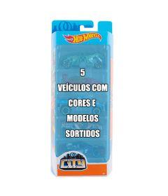 Conjunto-de-Veiculo-Hot-Wheels---Pacote-com-5-Sortidos---Serie-City---Mattel