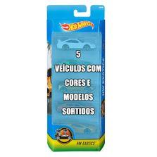 Conjunto-de-Veiculo-Hot-Wheels---Pacote-com-5-Sortidos---Serie-HW-Exotics---Mattel