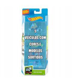Conjunto-de-Veiculo-Hot-Wheels---Pacote-com-5-Sortidos---Serie-HW-Fun-Park---Mattel