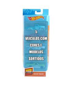 Conjunto-de-Veiculo-Hot-Wheels---Pacote-com-5-Sortidos---Serie-HW-Hot-Trucks---Mattel