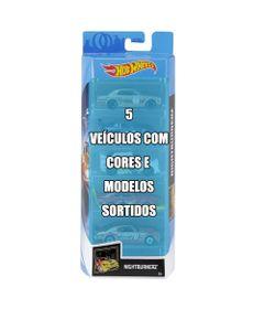 Conjunto-de-Veiculo-Hot-Wheels---Pacote-com-5-Sortidos---Serie-Nightburnerz---Mattel