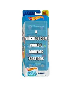 Conjunto-de-Veiculo-Hot-Wheels---Pacote-com-5-Sortidos---Serie-Track-Builder---Mattel