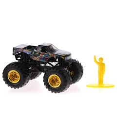 Mini-Veiculo-e-Figura---1-64---Monster-Jam---BadNews---Sunny