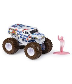 Mini-Veiculo-e-Figura---1-64---Monster-Jam---Ice-Cream-Man---Sunny
