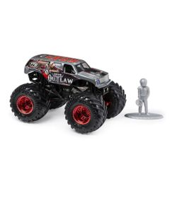 Mini-Veiculo-e-Figura---1-64---Monster-Jam---Iron-Outlaw---Sunny
