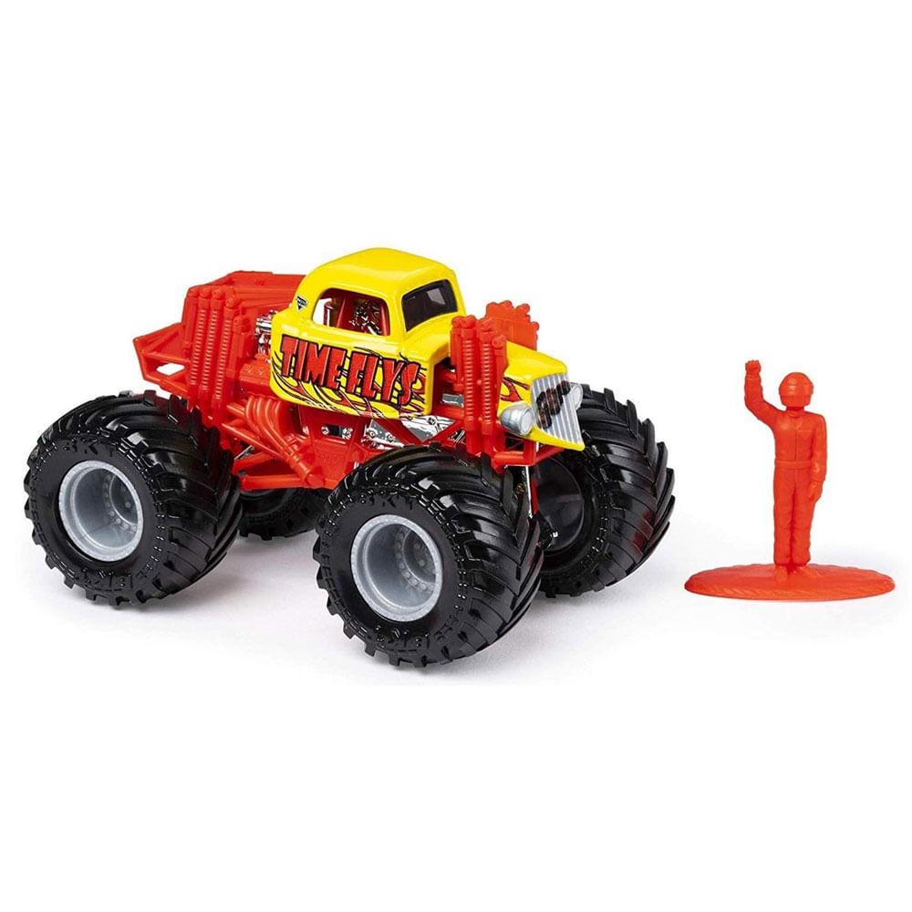 Mini Veículo e Figura - 1:64 - Monster Jam - Time Flys - Sunny