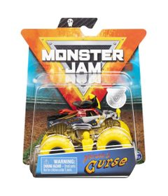 Mini-Veiculo-e-Figura---1-64---Monster-Jam---Piratas-Curse---Sunny