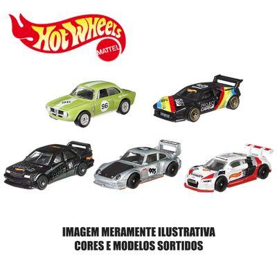 Kit-de-Carrinhos-Hot-Wheels---164---Veiculos-Basicos---5-Carrinhos-Sortidos---Mattel
