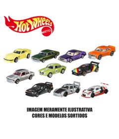 Kit-de-Carrinhos-Hot-Wheels---164---Veiculos-Basicos---10-Carrinhos-Sortidos---Mattel
