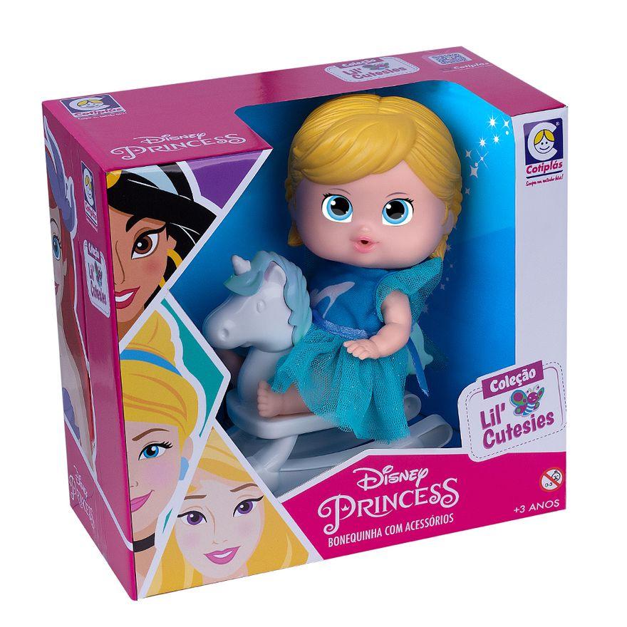 Mini-Boneca---18Cm---Disney---Cinderela-no-Cavalinho---Cotiplas-1