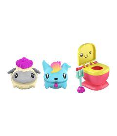 Mini-Figuras-Surpresa---15Cm---Pooparoos---Pacote-Familia---Ovelha---Mattel-Nova