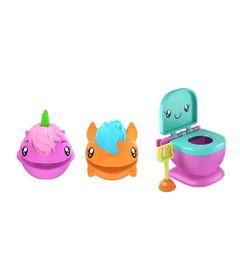 Mini-Figuras-Surpresa---15Cm---Pooparoos---Pacote-Familia---Unicornio---Mattel-Nova
